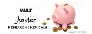 Wat kosten research chemicals als je die gaat kopen