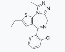 etizolam moleculaire formule