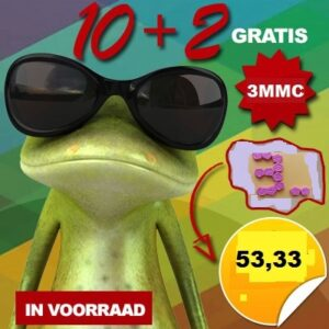 3mmc 10 + 2 gratis pellets 150 mg