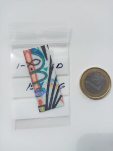 1P-LSD 150 microgram artwork 10 stuks