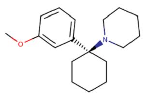 3-meo-PCP moleculaire formule
