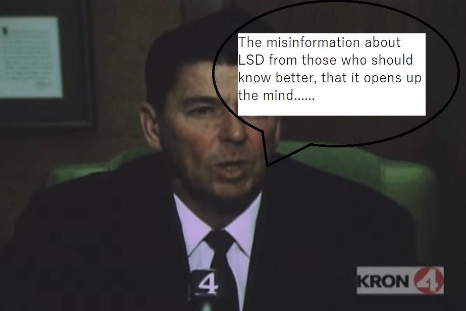 LSD and Reagan