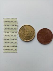 flunitrazolam 10 blotters 0,25 milligram